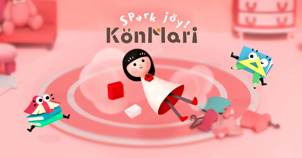 KonMari Spark Joy!